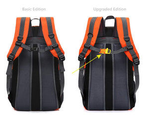 15-inch Fashion Travel Waterproof USB Charging Backpack