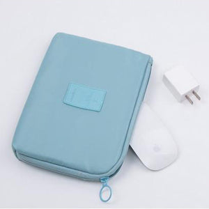Travel Business Bag to Organize Powerbanks and Electronics