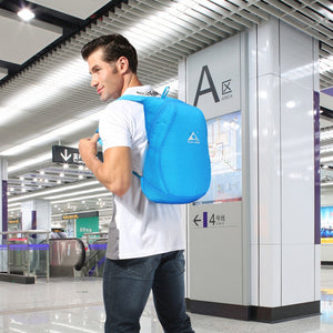 Waterproof Lightweight Foldable Outdoor Travel Nylon Backpack