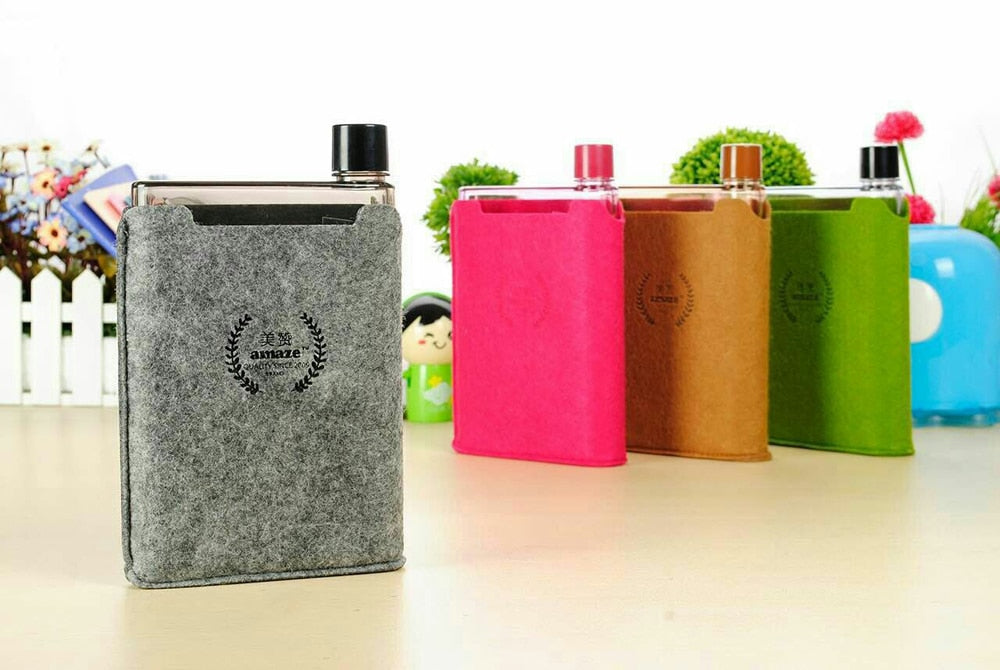 420ML Water Bottle Shaker (Flat Kettle Style)