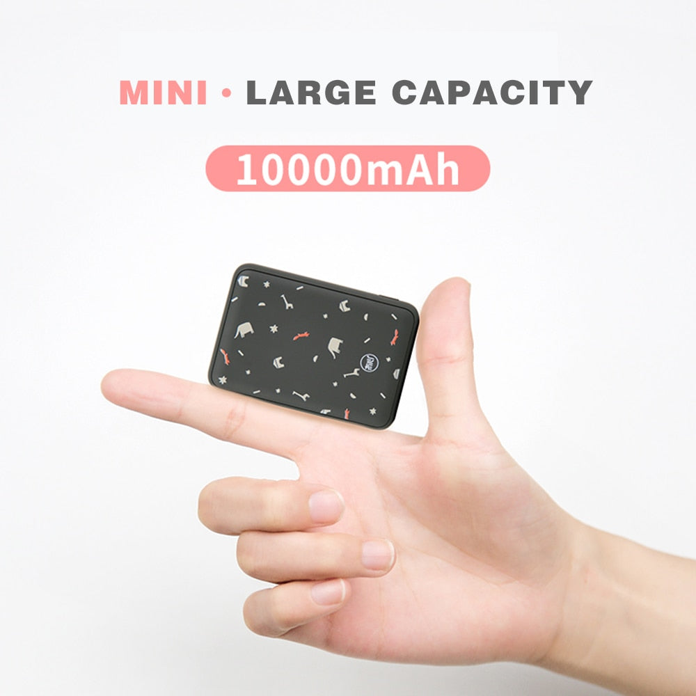 Ultra-thin 10000Mah Mini Power Bank