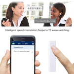 SMART BLUETOOTH WIRELESS VOICE TRANSLATOR - 26 MULTI-LANGUAGE MPS TS CARD