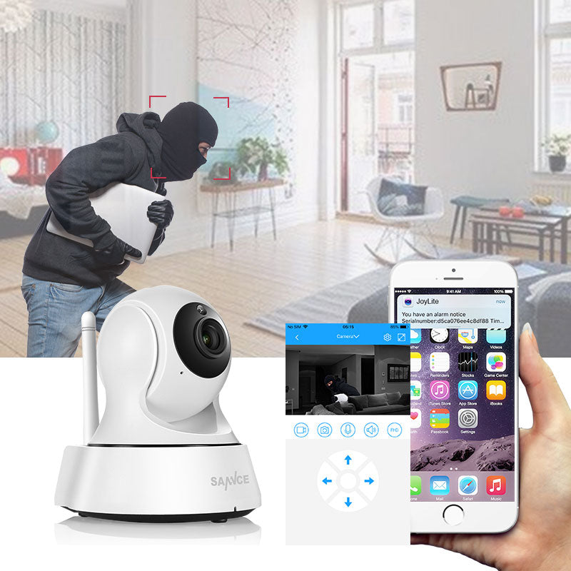 720P Wifi Camera with Night Vision - Home Security Surveillance