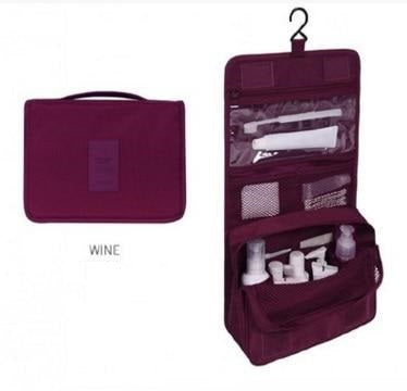 Large Nylon Toiletry Packing Bag