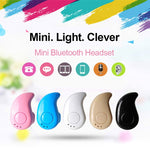 Mini Wireless Bluetooth Earbud with Built-in Mic