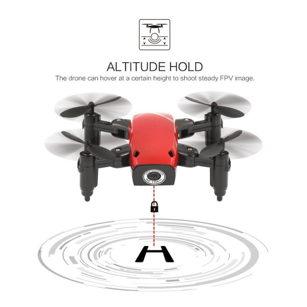 Foldable S9W Camera Drone with Controller