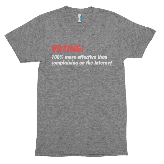 Voting is More Effective T-shirt