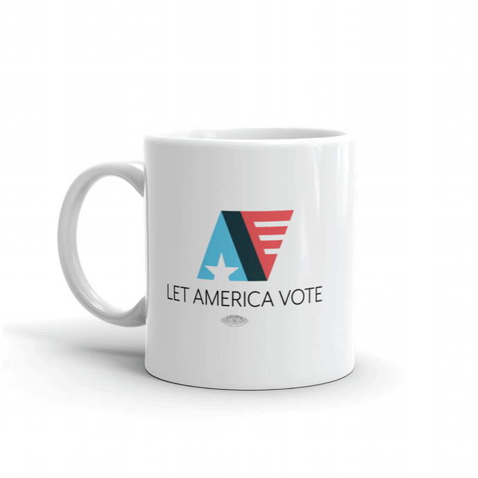 Let America Vote Logo Mug