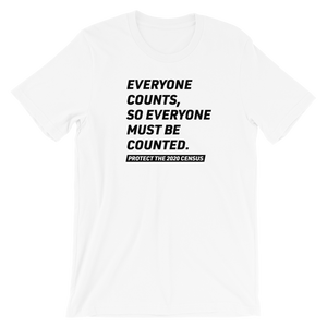 Everyone Counts Tee