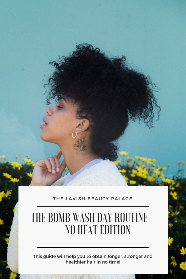 The BOMB Wash Day Routine - NO HEAT!