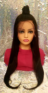 Full Lace Silky Straight Wig - 150 Density