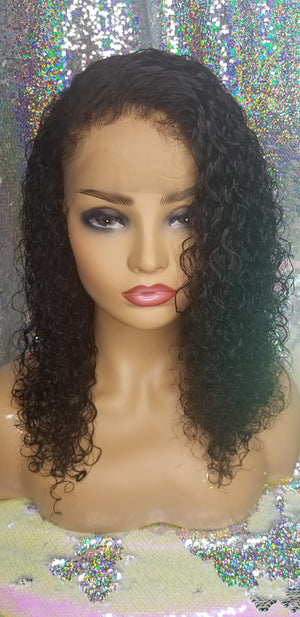 Day 8 - 40% Off Brazilian Kinky Curly Lace Front Wig