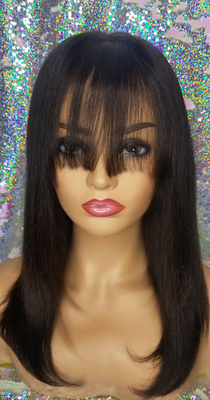 "Front Lace Wig with ""Bangs"""