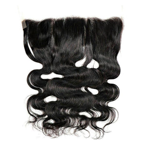 100% Virgin Hair Brazilian Body Wave Lace Frontal