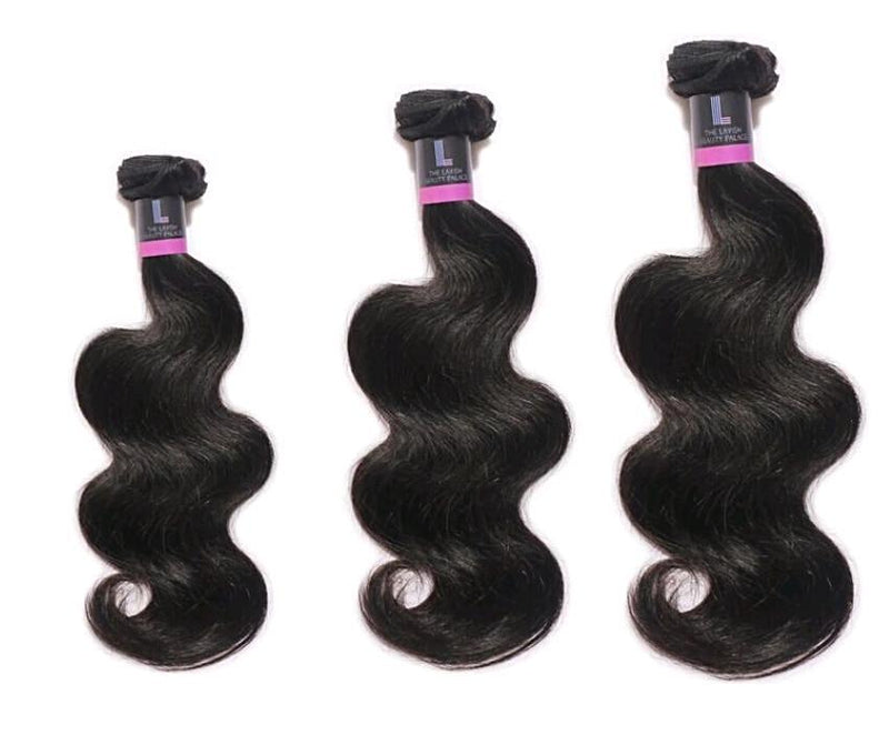 Three Virgin Brazilian Body Wave Hair Extension Deal