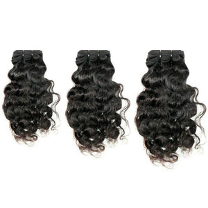 Three Bundles Raw Indian Curly Hair Extensions Deal