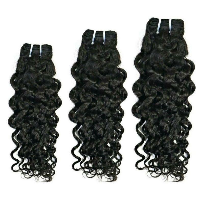 Three Bundles Virgin Brazilian Spanish Wave Hair Extensions Deal