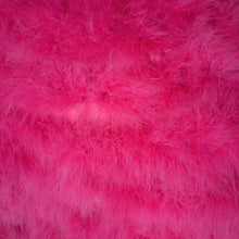 Load image into Gallery viewer, MARABOU FEATHER CAPE IN SHOCKING PINK