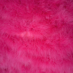 MARABOU FEATHER CAPE IN SHOCKING PINK