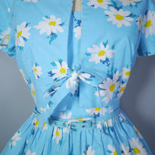 Load image into Gallery viewer, HORROCKSES FASHIONS 60s 3 PIECE SUN DRESS, BOLERO AND BELT SUMMER SET - S
