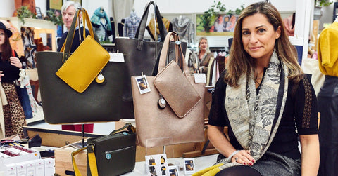 The Morphbag by GSK   BLOG   The Spirit of Christmas, Ethical Brand Directory Pop-Up Shop,  Discover Luxury Vegan bags with Giovanna Sessi-Knott founder