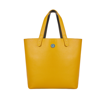 The Morphbag by GSK Mustard tote
