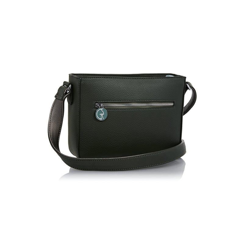 The Morphbag by GSK Black Forest Green crossbody bag