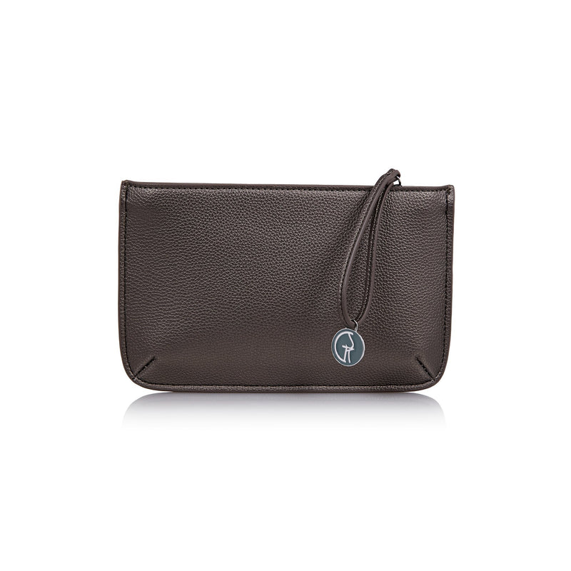 The Morphbag by GSK Black Forest Green clutch