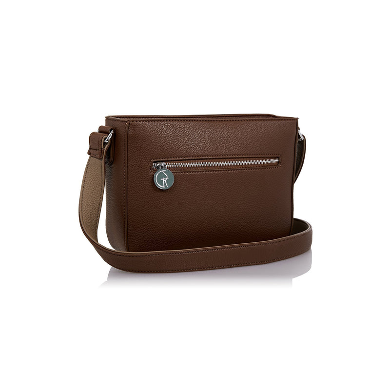 The Morphbag by GSK Chocolate crossbody bag