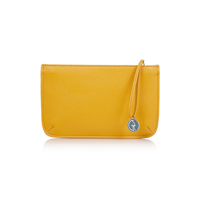 The Morphbag by GSK Mustard clutch