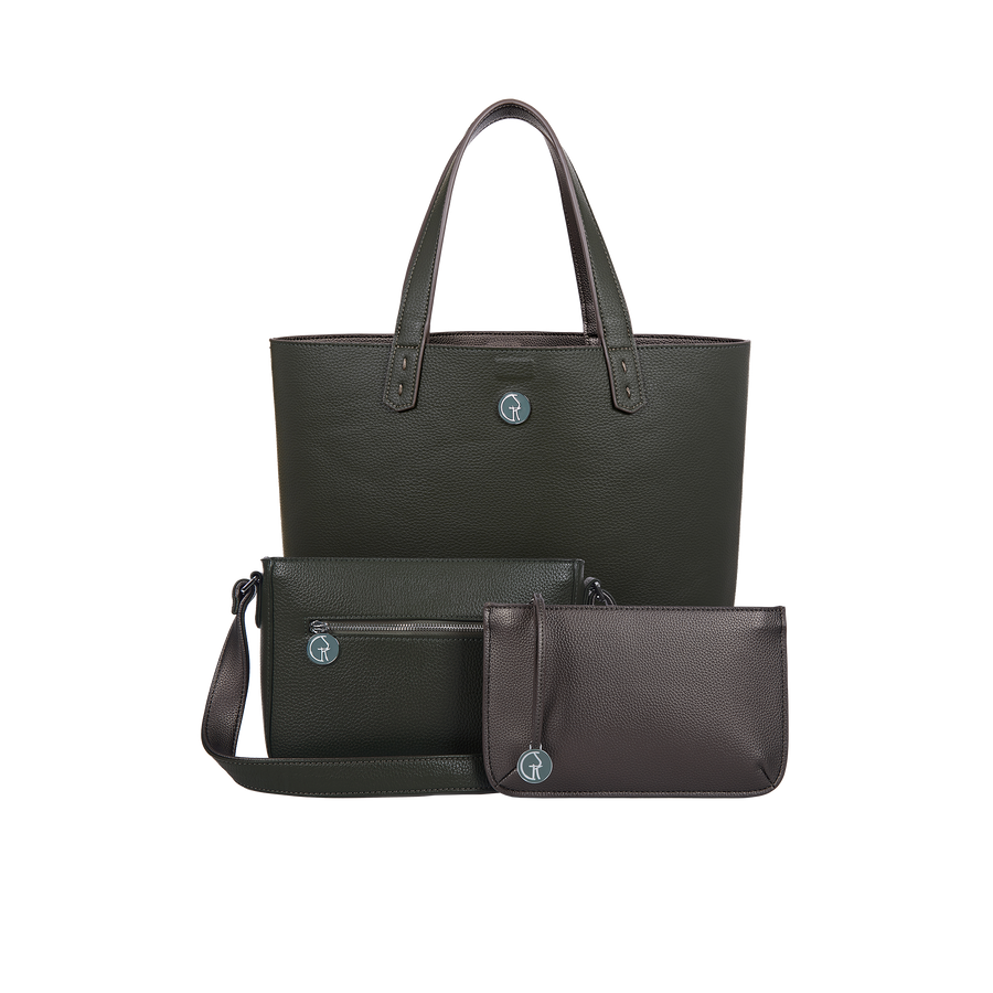 The Morphbag by GSK Black Forest Green & Metallic Mushroom set