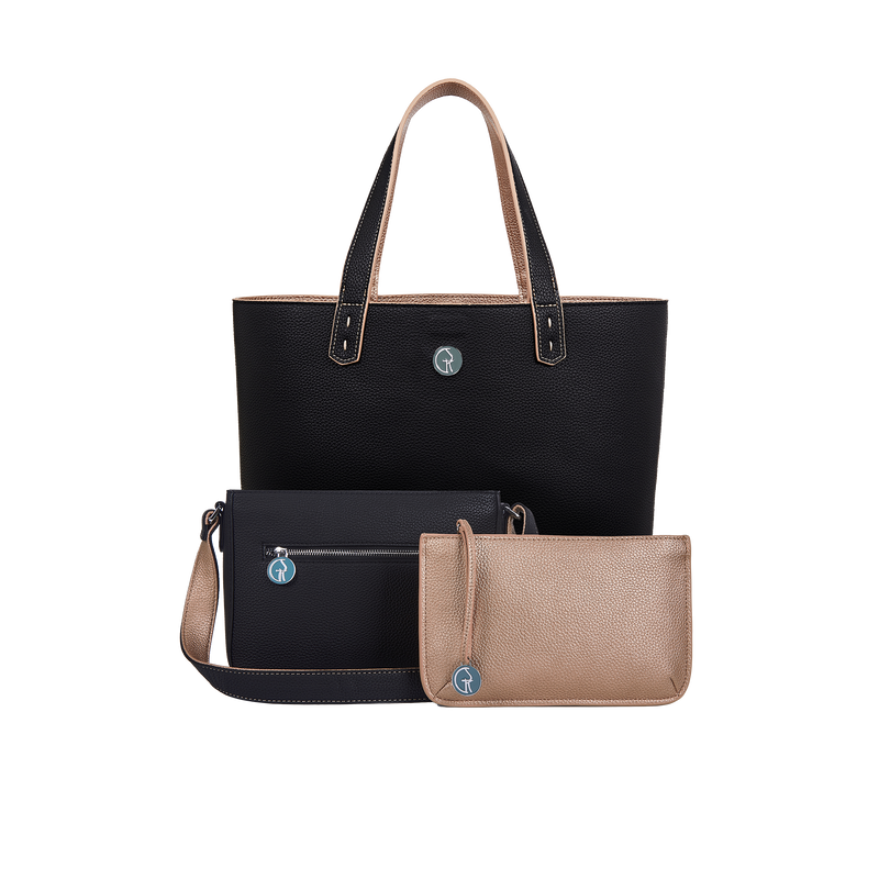 The Morphbag by GSK Onyx & Rose Gold set