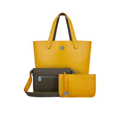 The Morphbag by GSK Green Pepper & Mustard set reversed