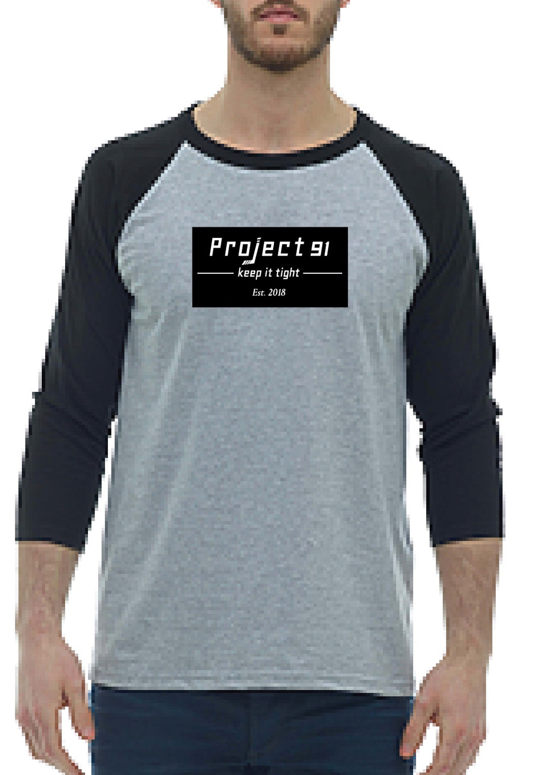 Project91 3/4 Sleeve Shirt