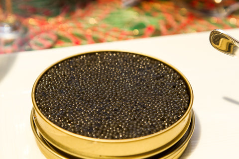 Caviar can be preserved for four to six weeks without opening