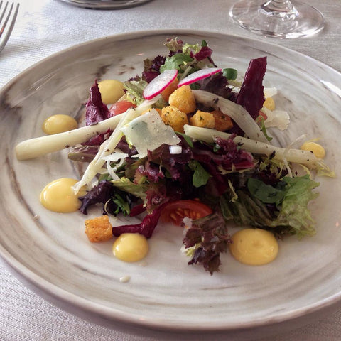 Truffle salad was a dish which was in Roman Noble