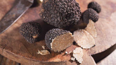 Truffles are high in protein
