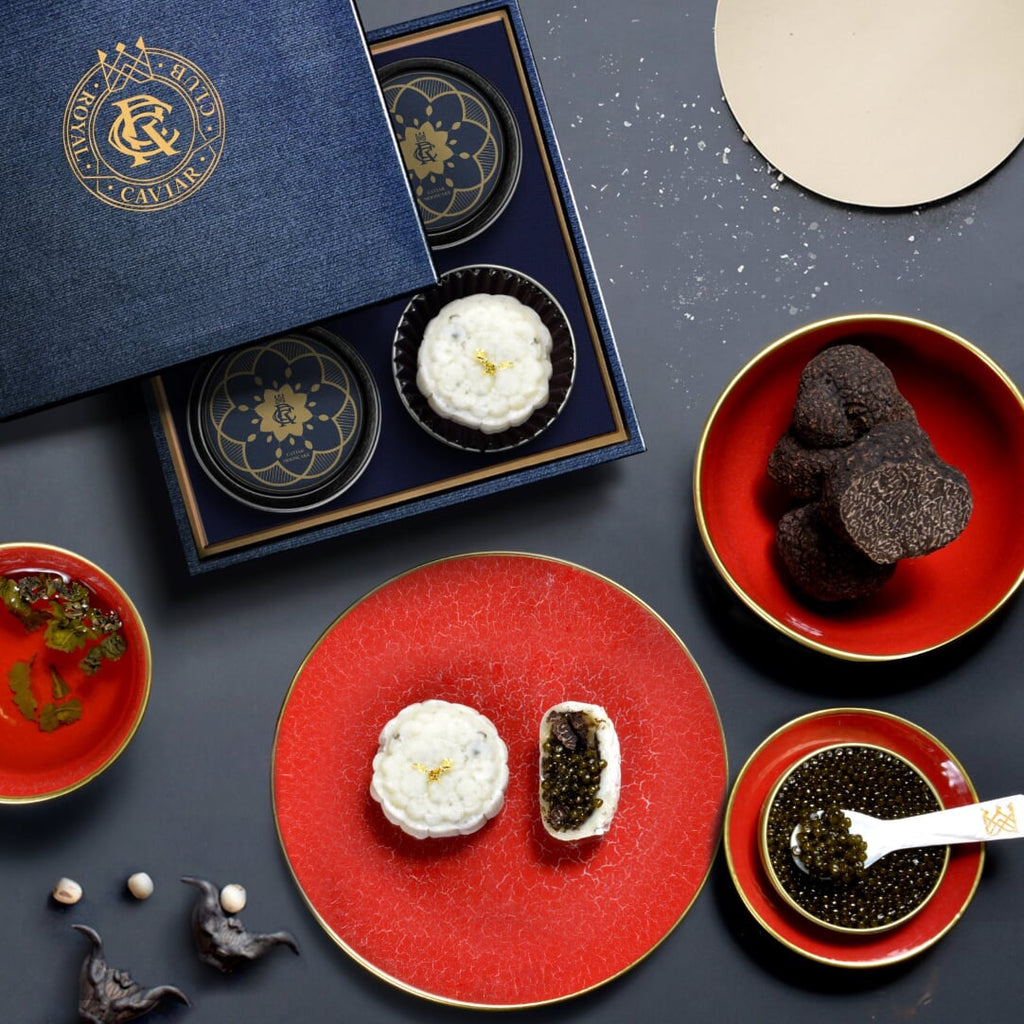 The World's First Caviar + Truffle Mooncake