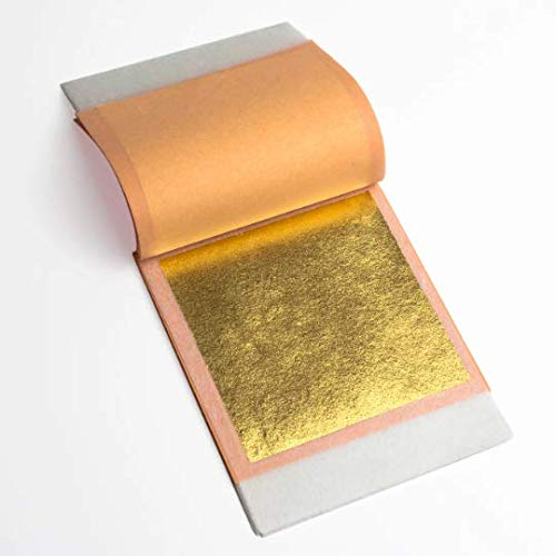 24K Edible Gold Leaf 25 sheets