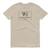Betty en NY V&M Square Logo Men's Short Sleeve T-Shirt