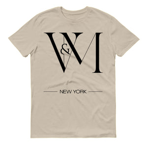 Betty en NY V&M Logo Men's Short Sleeve T-Shirt