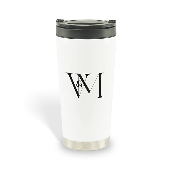 Betty en NY V&M Logo Travel Mug-Shop Telemundo