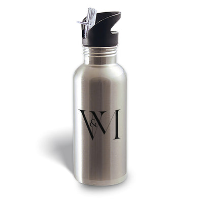 Betty en NY V&M Logo Stainless Steel Water Bottle-Shop Telemundo