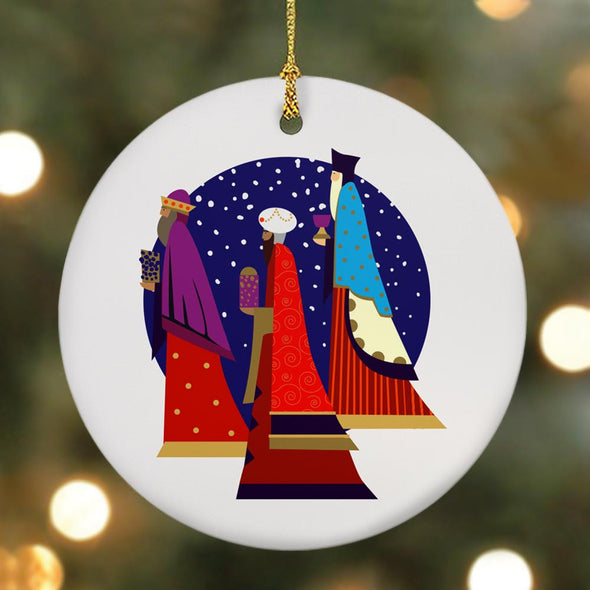 3 Kings Double-Sided Ornament