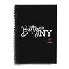 Betty en NY Notebook