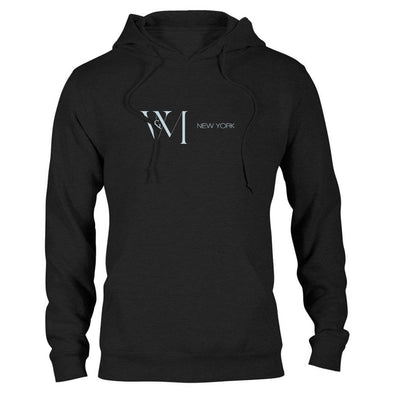 Betty en NY V&M Vertical Logo Hooded Sweatshirt-Shop Telemundo