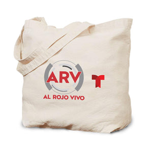 Al Rojo Vivo Canvas Tote Bag