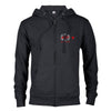 Al Rojo Vivo Lightweight Zip Up Hooded Sweatshirt