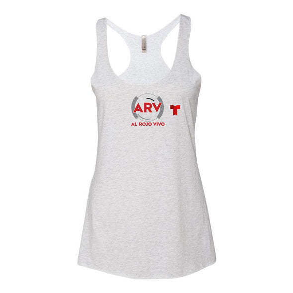 Al Rojo Vivo Women's Tri-blend Racerback Tank Top