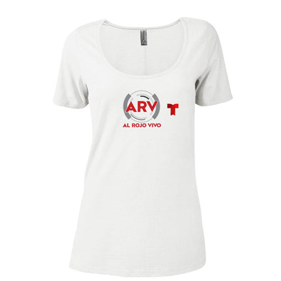 Al Rojo Vivo Women's Relaxed Scoop Neck T-Shirt